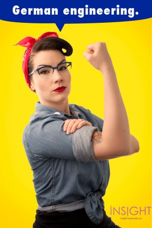 Rosie the Riveter Glasses